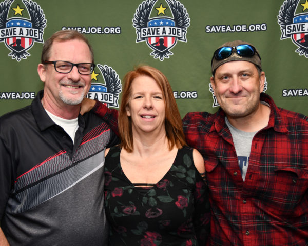 Ed, Sharon, and Mark