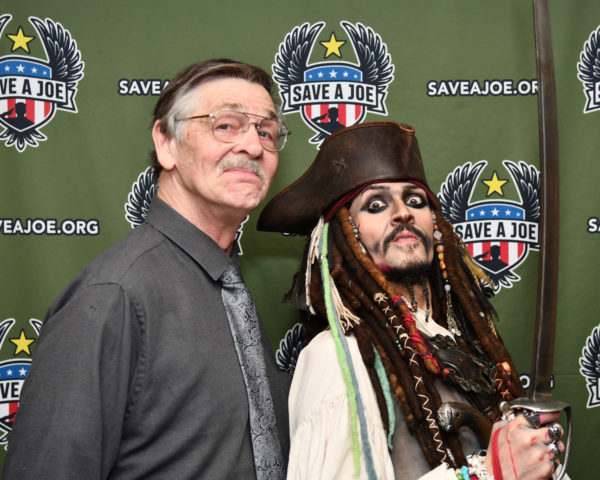 Captain Jack and our Emcee Jeff Meyers